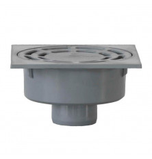 Sumidero PVC 25x25 cm. - Salida Vertical 90 mm.