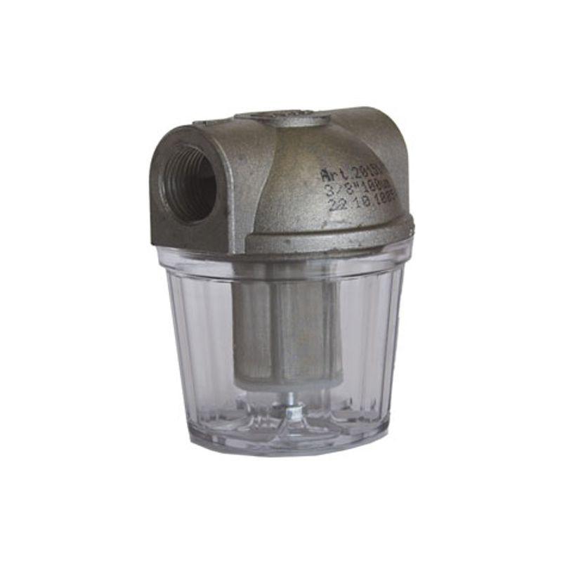 """Filtro Gasóleo 3/8"""" Plástico"""