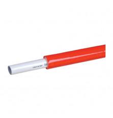 Tubo Multicapa Aislado PEX/AL/PE Rojo