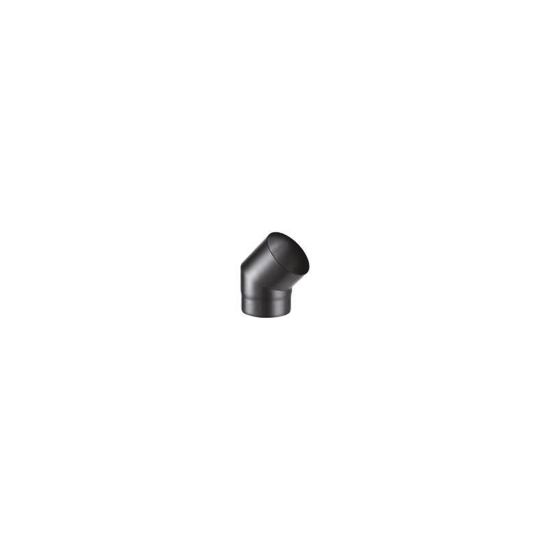 Codo 45º Acero Negro Mate SW-LE