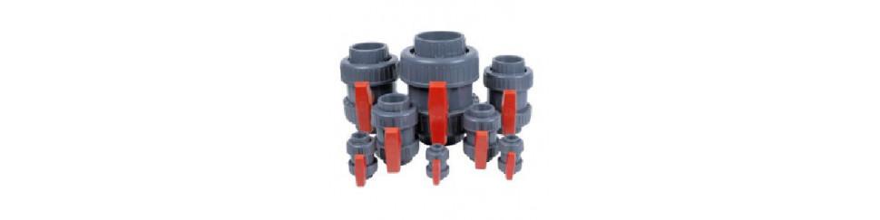 Accesorios en PVC para instalaciones de suministro de agua a presión