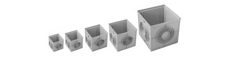 Arquetas plásticas fabricadas en polipropileno