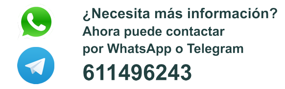 Contacto WhatsApp Telegram 611496243